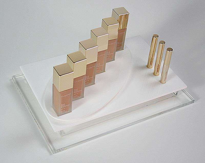 Clarins-Foundation-Cosmetics-Display