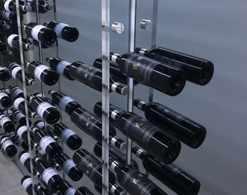 APF Acrylic Wine Display Rack